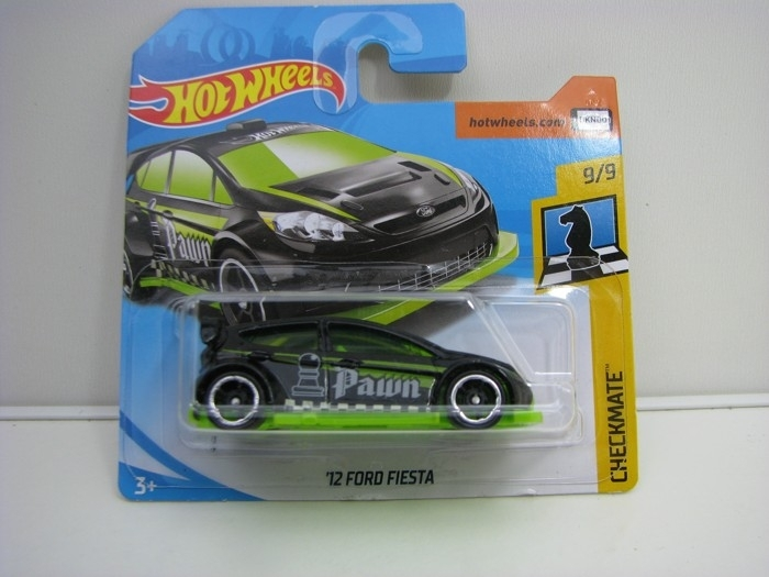Ford Fiesta 12 Hot Wheels Checkmate-2018-FJX63